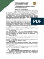 Proceso Admnistrativo de Una Empresa Tca
