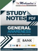 Study Notes Ga Eng Bank 12-03-18