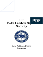UP DLS 2013 LAE Reviewer (Consolidated & Edited Answer Key)