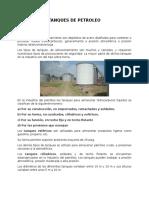 clasificación Tanques de petroleo