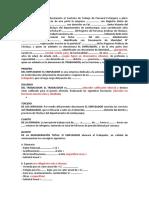 Contrato de Trabajo- Extranjero