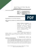Requerimiento de Cumplimiento de Reparación Civl-caso 212-2011