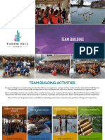 Team Building Packages Brochure 2017