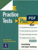 CAE Practice Tests Plus 2