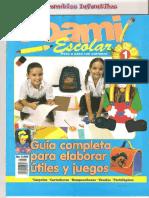 04. JPR504 - Foami Escolar No.1 - Guía Completa Para Elaborar Útiles y Juegos