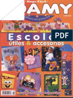 08. JPR504 - Haga Fácil - Foamy Escolar No.18 - Útiles y Accesorios