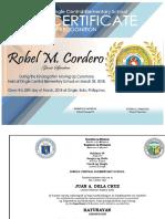 Kinder Certificate2