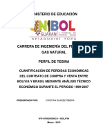Cristian-Analalisis Tecnico Del Contrato de Compra y Venta Bolivia Brasil Durante El Periodo 1999-2007
