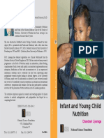 NA-370Infant and Young Child Feeding ISBN 978-955-590-094-2 Rs.300