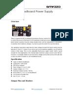 Breadboard PowerSupply-datasheet