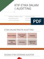 Isu Etika Dalam Praktik Auditing