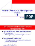 Session 9 Human Resource Management