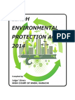 Sindh Environmental Protection Act, 2014-Final