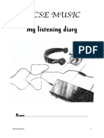 IGCSE - Listening Diary