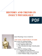 7. History and Trends in Insect Physiology
