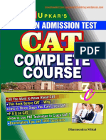 UPKARS's -CAT Complete Course - 3000 CAT Questions