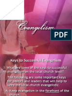 12 Keys to Successful Evangelism 1