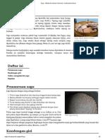Sagu - Wikipedia Bahasa Indonesia, Ensiklopedia Bebas