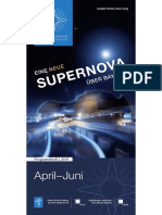ESO Supernova Quarterly Programme 2018 (German), April-June