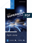 ESO Supernova Quarterly Programme 2018, April–June