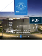 Die Event Location für Sternstunden