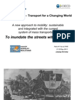 International Transportation Forum (OECD), Leipzig, May 21-23, 2014