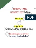 Cth Kets Krja English Week