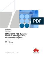 GSM and LTE FDD Dynamic Spectrum Sharing(SRAN11.1_03)