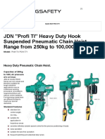 Hook Suspended Pneumatic Chain Hoist