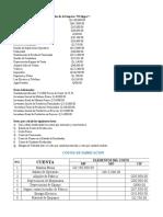 Formato Calculo Costo Produccion Historico o Real