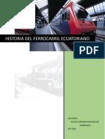 Historia de Tren Ecuatoriano