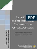 Ablao Por Radiofrequncia No Tratamento Do Osteoma Osteide Maribel Da Rocha Gomes
