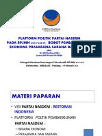 Nasdem Bappenas Padang 17 Feb 2014