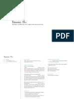 TammyHo CV&Portfolio