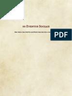 [Homebrew] 50 Eventos Sociais