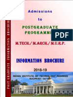 PG Information Brochure 2018