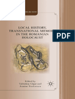 (Studies in European Culture and History) Valentina Glajar, Jeanine Teodorescu (Eds.)-Local History, Transnational Memory in the Romanian Holocaust-Palgrave Macmillan US (2011)