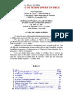 Análise - Explicação de Textos Difíceis Da Bíblia - Apolinário, Pedro