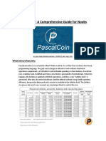 PascalCoin - A Comprehensive Guide for Noobs