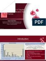 Transfusion in Trauma Patients