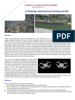 Sustainable urban planning using Remote Sensing and GIS