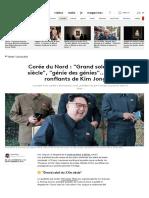 Corée Du Nord FranceInfo