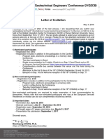 IYGEC6 Letter of Invitation