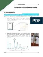 Protocole Chromatographie - Extraction