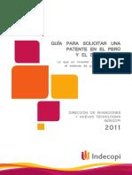 05.-Manual Para Solicitar Una Patente