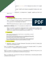 TÉRMINOS DE LA ISO 9000