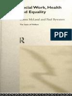 [Paul Bywaters, Eileen McLeod] Social Work, Health(BookFi)