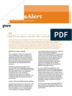 Pwc Spain Rett on Share Deals the End of the Story