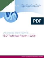 An Edited Summary of ISOTR12296 en 2012