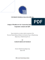 Design of Wheelbarrow for Construction Industry Utilizing Ergonomics Analysis and QFD - Nadiah Farhana Bt Hamzah - T55.3.L5.N32 2008 24 Pages